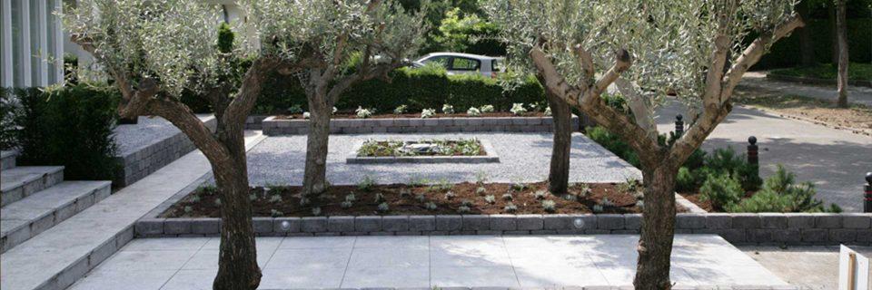 Gebruik van mooie materialen maken ook uw tuin uniek!